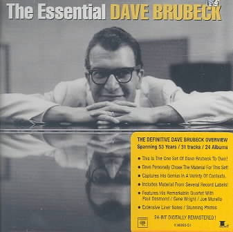 ESSENTIAL DAVE BRUBECK BY BRUBECK,DAVE (CD)